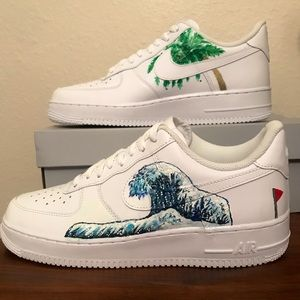 Painted Nwt Custom Customized Airforce Japanese Wave 1 sdthQCxr